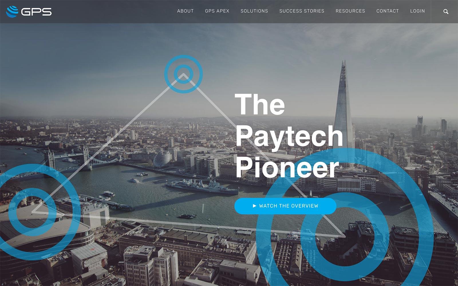 globalprocessing.com website design