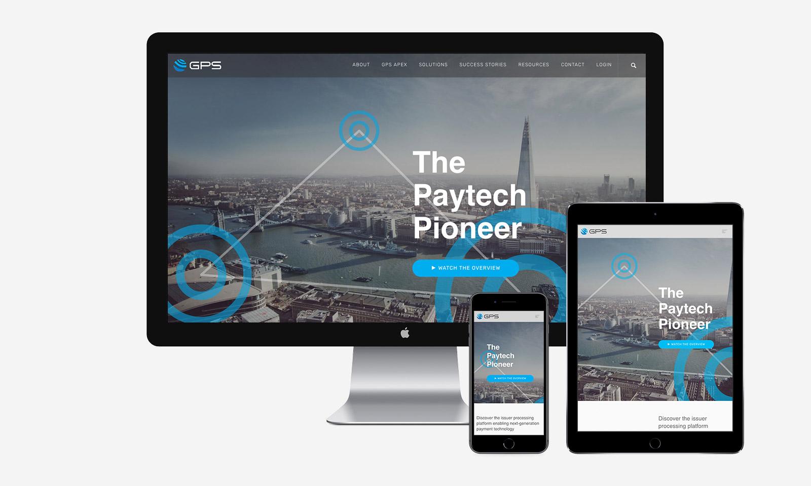 global processing services responsive website design