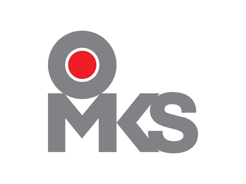 omks logo design
