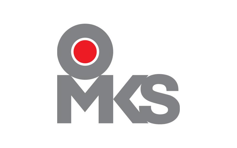 OMKS logo design japan