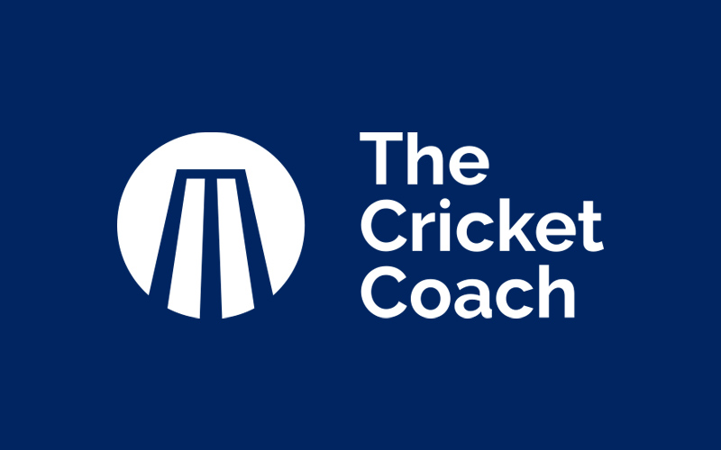 the cricket coach logo design
